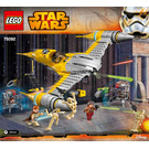 LEGO Naboo Starfighter Set 75092 Instructions