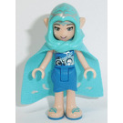 LEGO Naida Riverheart with Hood and Cape Minifigure
