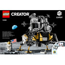 LEGO NASA Apollo 11 Lunar Lander Set 10266 Instructions
