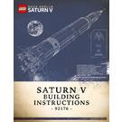 LEGO NASA Apollo Saturn V Set 92176 Instructions