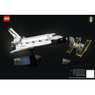 LEGO NASA Space Shuttle Discovery Set 10283 Instructions
