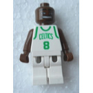 LEGO NBA Antoine Walker, Boston Celtics Minifigure #8 Home Uniform