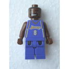 LEGO NBA Kobe Bryant, Los Angeles Lakers Minifigure #8 (Road Uniform)