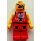 LEGO NBA player, Number 2 Minifigure