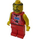 LEGO NBA player, Number 4 Minifigure