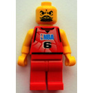 LEGO NBA player, Number 6 Minifigure