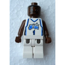 LEGO NBA Tracy McGrady, Orlando Magic Minifigure #1 Home Uniform