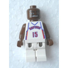 LEGO NBA Vince Carter, Toronto Raptors Minifigure #15 Home Uniform