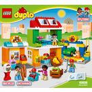 LEGO Neighborhood Set 10836 Instructions