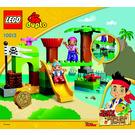 LEGO Never Land Hideout Set 10513 Instructions