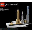 LEGO New York City Set 21028 Instructions