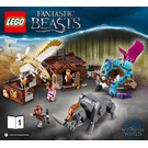 LEGO Newt's Case of Magical Creatures Set 75952 Instructions