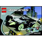 LEGO Night Racer Set 8647 Instructions