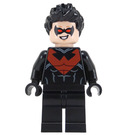 LEGO Nightwing with Red Logo Suit Minifigure