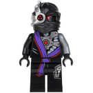 LEGO Nindroid Warrior with One Sided Decoration on head Minifigure