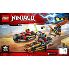 LEGO Ninja Bike Chase Set 70600 Instructions