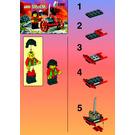 LEGO Ninja Blaster Set 1099 Instructions