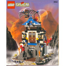LEGO Ninja Fire Fortress Set 3052