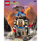 LEGO Ninja Fire Fortress Set 3052 Instructions