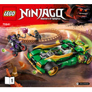 LEGO Ninja Nightcrawler Set 70641 Instructions