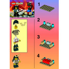 LEGO Ninja Shogun's Mini Base Set 3077 Instructions