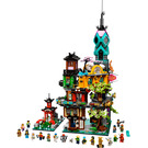 LEGO NINJAGO City Gardens Set 71741