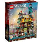 LEGO NINJAGO City Gardens Set 71741 Packaging