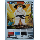 LEGO Ninjago Deck Number 1, Game Card 16, SENSEI WU (93844)