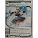 LEGO Ninjago Deck Number 1, Game Card 54, Snow Surfin' (93844)