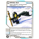 LEGO Ninjago Deck Number 2, Game Card 101, White Out (International Version) (4643434)