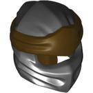 LEGO Ninjago Mask with Dark Brown Wrap (40925)