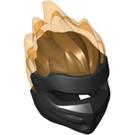 LEGO Ninjago Mask with Transparent Orange Flame (41163)