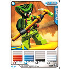 LEGO Ninjago Master of Spinjitzu, Spitta, Deck #2, Card #12 (4643683)