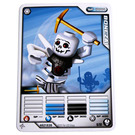 LEGO Ninjago Masters of Spinjitz Game Card, No. 9, Bonezai (93844)