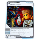LEGO Ninjago Masters of Spinjitzu Deck 2 Game Card 113 - Surrender (International Version) (4643439)