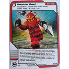 LEGO Ninjago Masters of Spinjitzu Deck 2 Game Card 43 - Double Duel (International Version) (4643444)