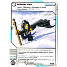 LEGO Ninjago Masters of Spinjitzu Deck Number 2, Game Card 101, White Out (International Version) (4643434)
