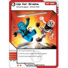 LEGO Ninjago Masters of Spinjitzu Game Card, No. 28, Up for Grabs (93844)