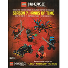 LEGO Ninjago Season 7: Hands of Time Promotional Sticker Set