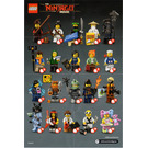 LEGO Ninjago Series Minifigure - Random Bag Set 71019-0 Instructions