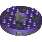 LEGO Ninjago Spinner with Dark Purple Top (98354)