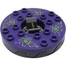 LEGO Ninjago Spinner with Dark Purple Top (98354)