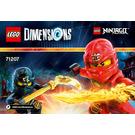 LEGO Ninjago Team Pack Set 71207 Instructions