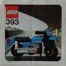 LEGO Norton Motorcycle Set 393 Instructions