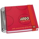LEGO Notebook - 50th Anniversary of the Brick (Spiral Bound) (852335)