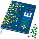 LEGO Notebook - Blue with 1 x 1 Tiles (853569)