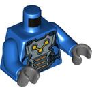 LEGO Nova Corps Officer Minifig Torso (973 / 76382)