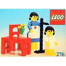 LEGO Nurse and Child Set 276