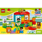 LEGO Nursery School Set 10833 Instructions