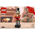 LEGO Nutcracker Set 40254 Instructions